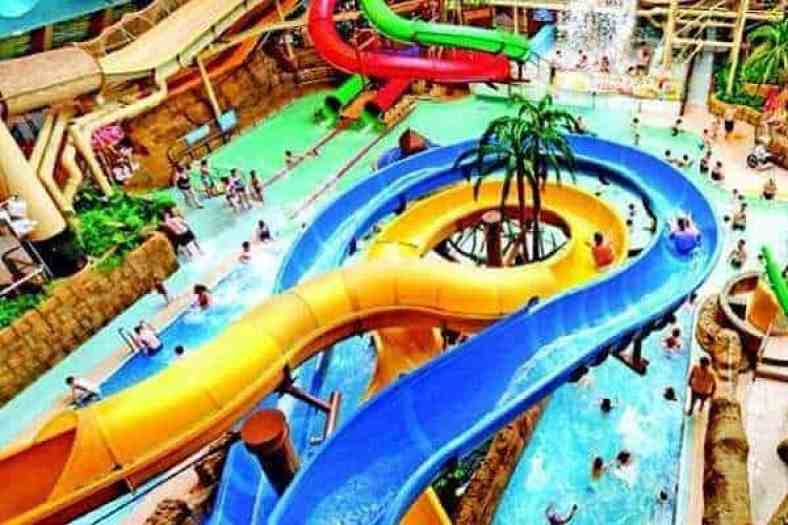 sandcastle water park blackpool