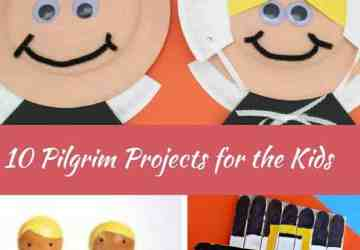 10 Pilgrim Projects for the Kids