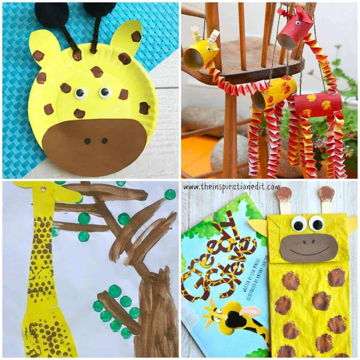 13 Fantastic Giraffe Crafts For Kids The Inspiration Edit