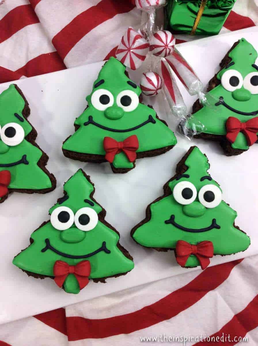 Fun and Funky Christmas Tree Brownies · The Inspiration Edit - photo#38