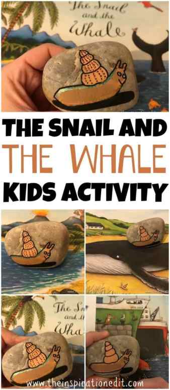 The Snail And The Whale Kids Activity 183 The Inspiration Edit