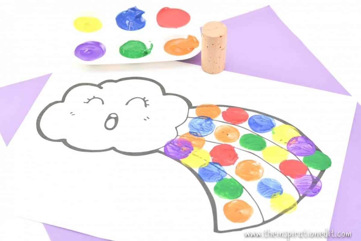20 Rainbow Crafts For Preschool Kids The Inspiration Edit
