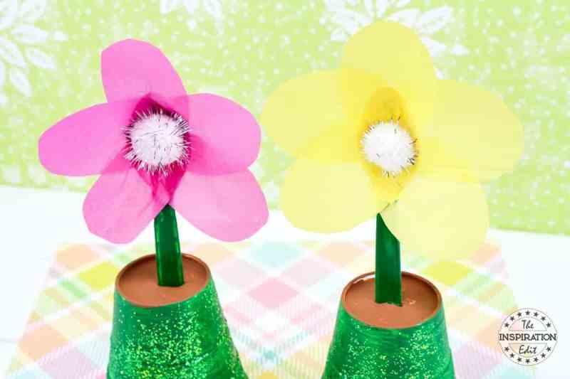flower pot painting project