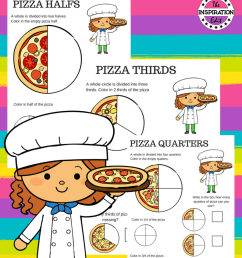 Pizza Fraction Worksheets For Kids · The Inspiration Edit [ 1123 x 794 Pixel ]