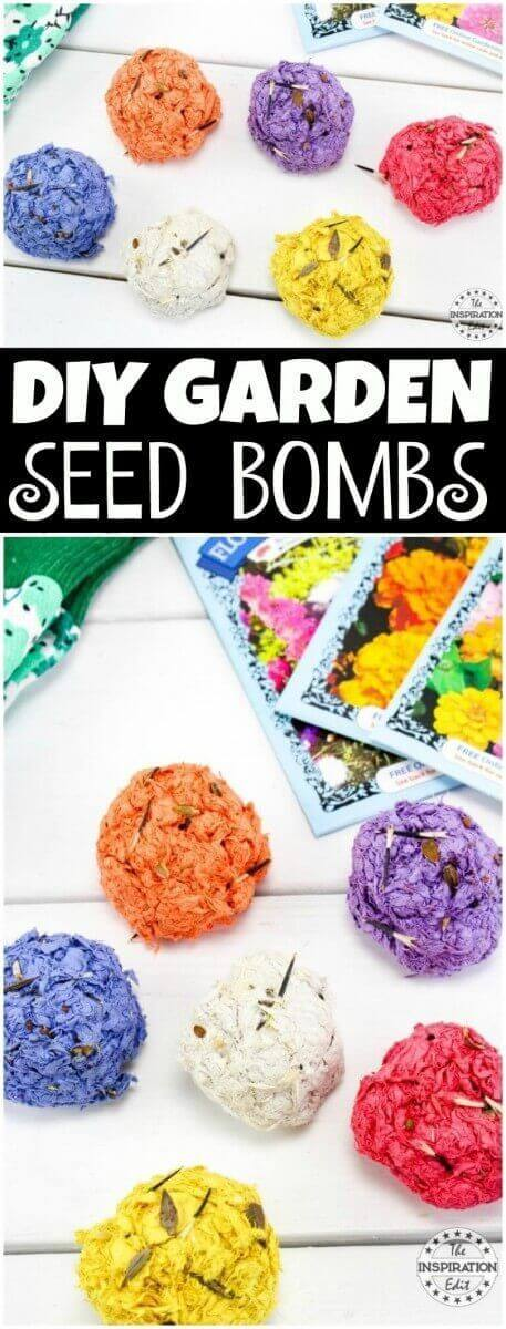 garden seed bombs