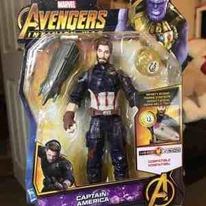 Captain America Toy Figure