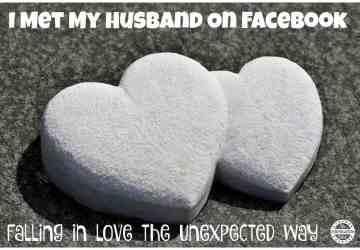 met husband on facebook