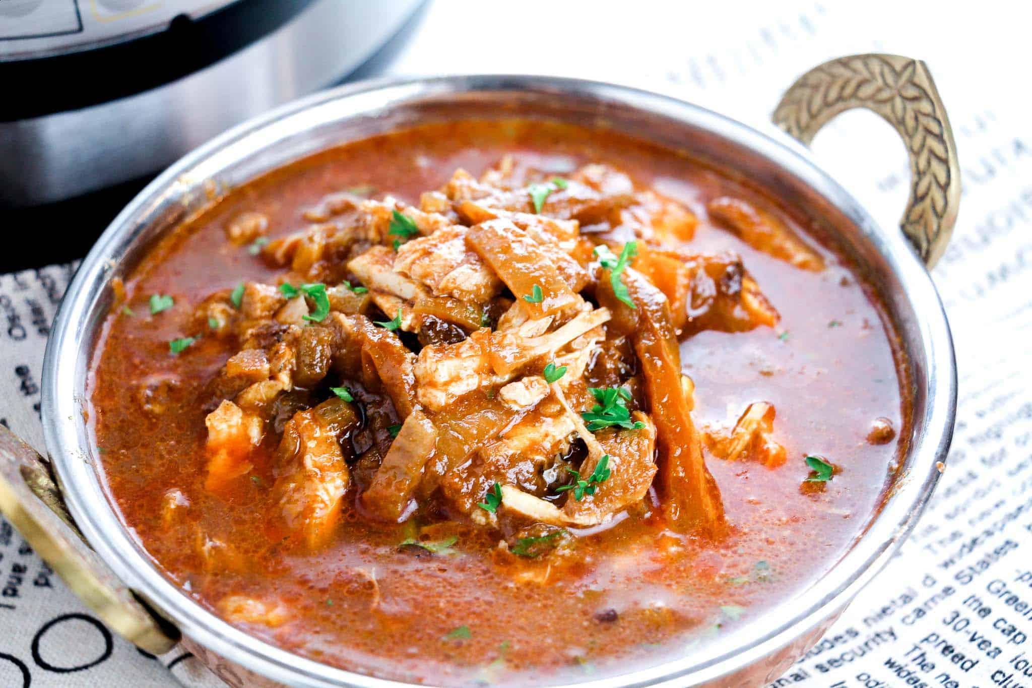 Easy Instant Pot Chicken Stew Recipe