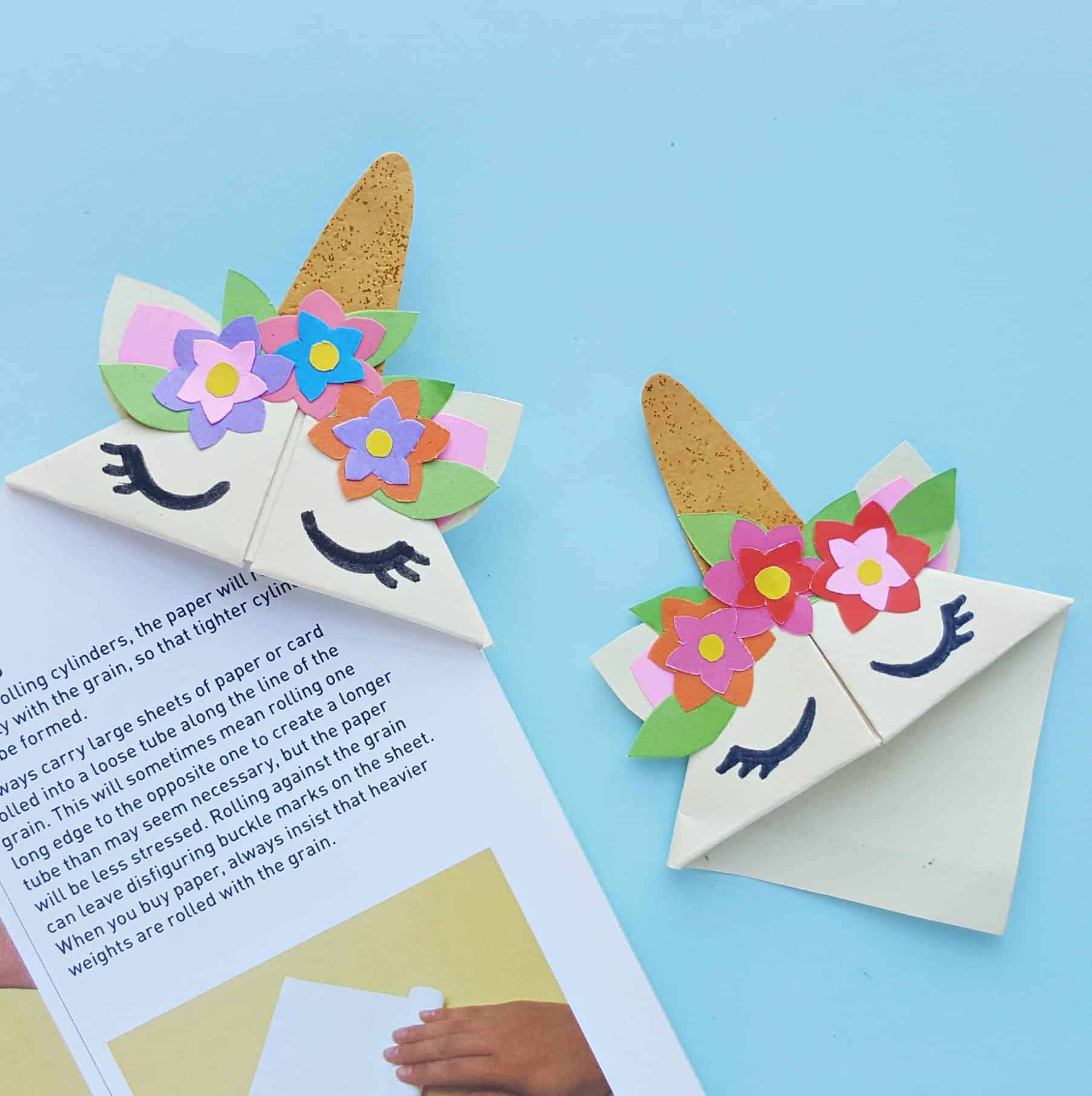 Easy Diy Unicorn Bookmark Craft For Kids The Inspiration