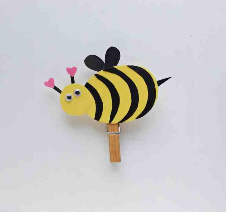 Step 9 - DIY Honey Bee Craft Idea For Valentines