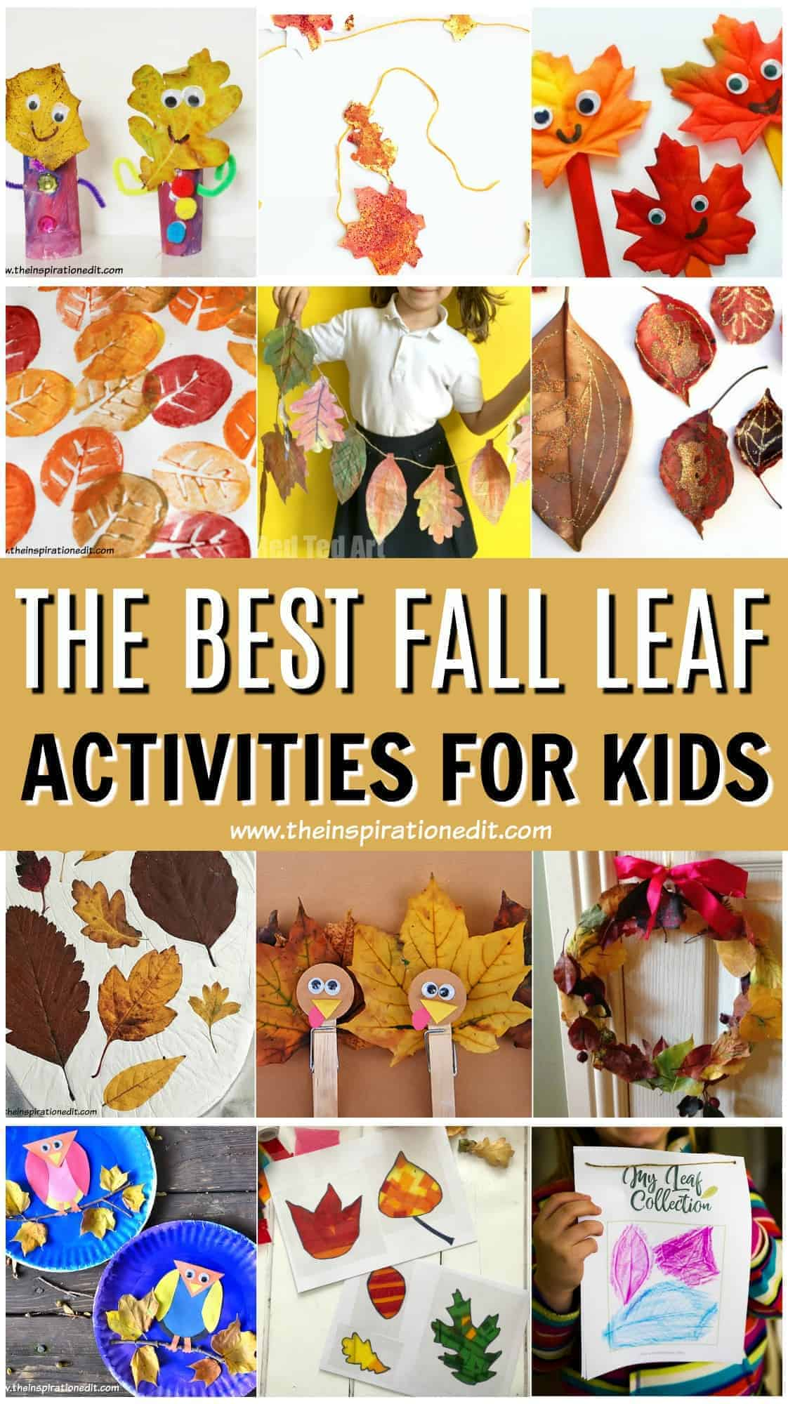 Leaf Autumn Crafts Kids Will Love The Inspiration Edit