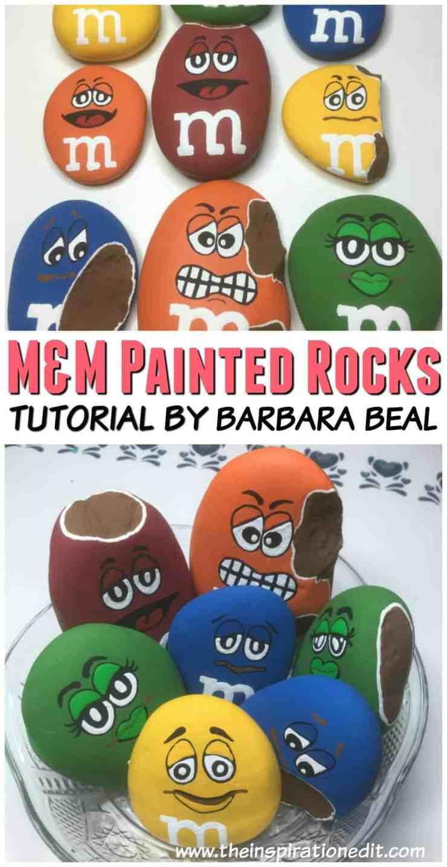 MNMROCKS - M&M Painted Rocks By Barbara Beal