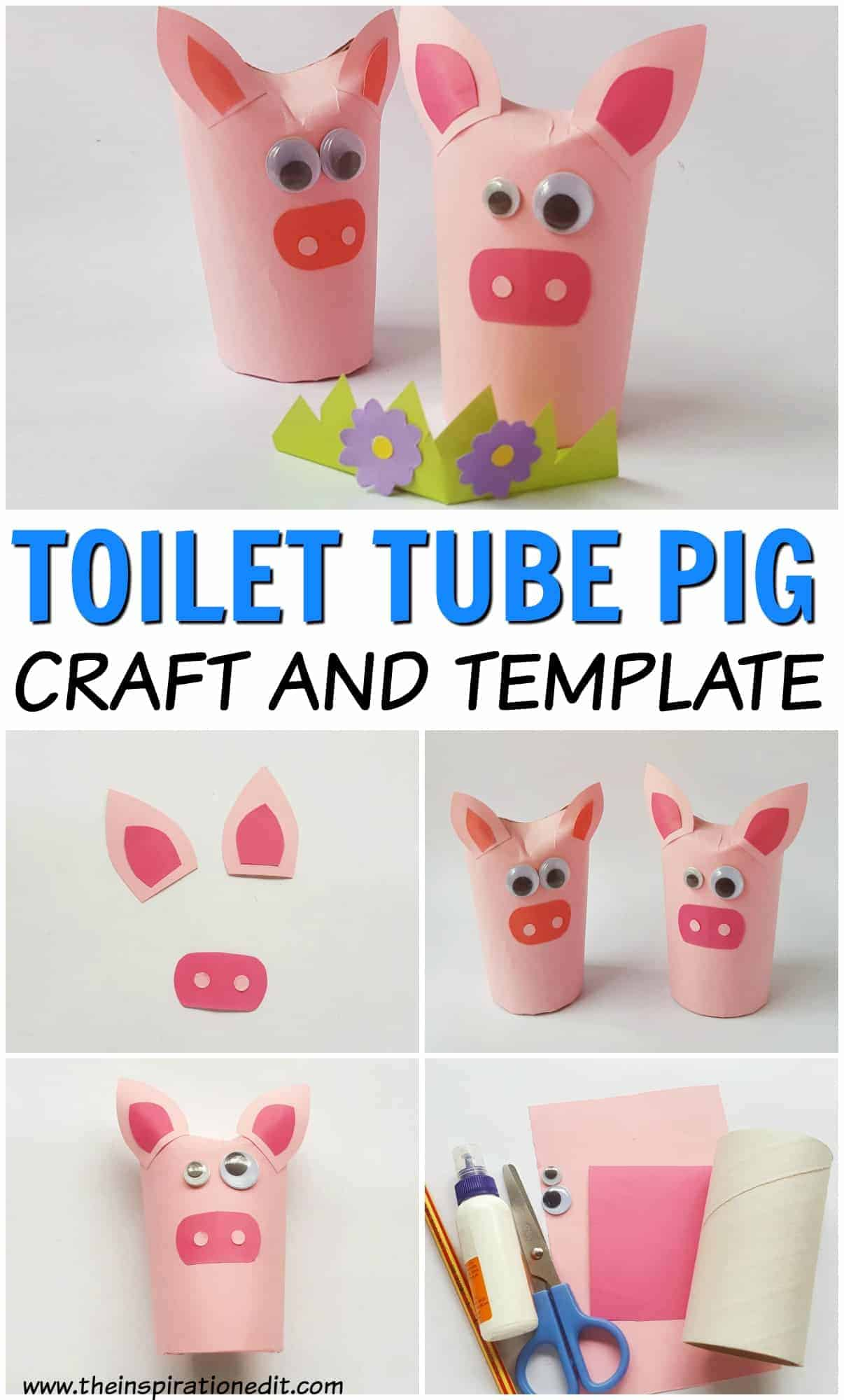 The Three Little Pigs Craft For Preschoolers The