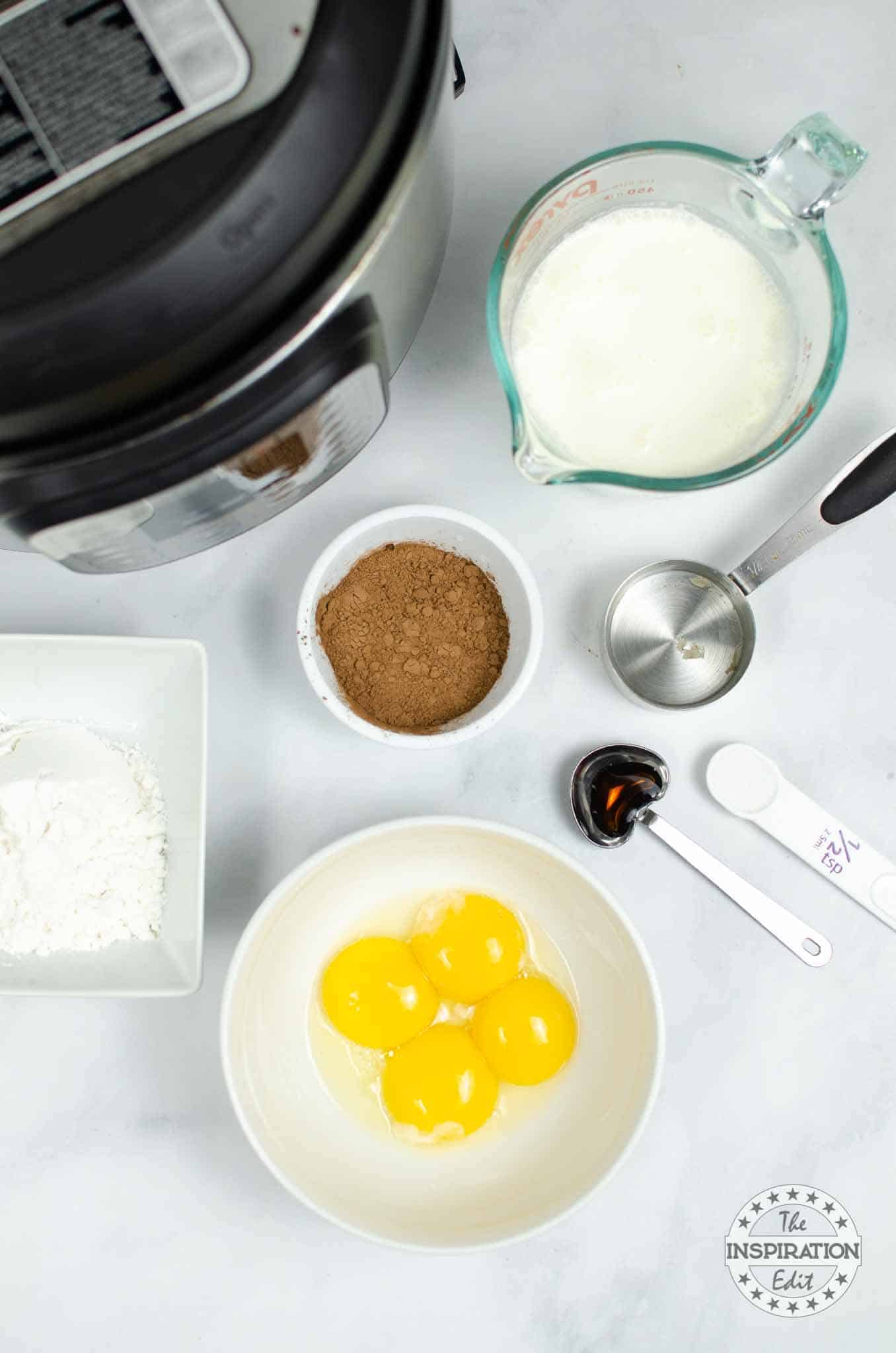 chocolate mousse ingredients