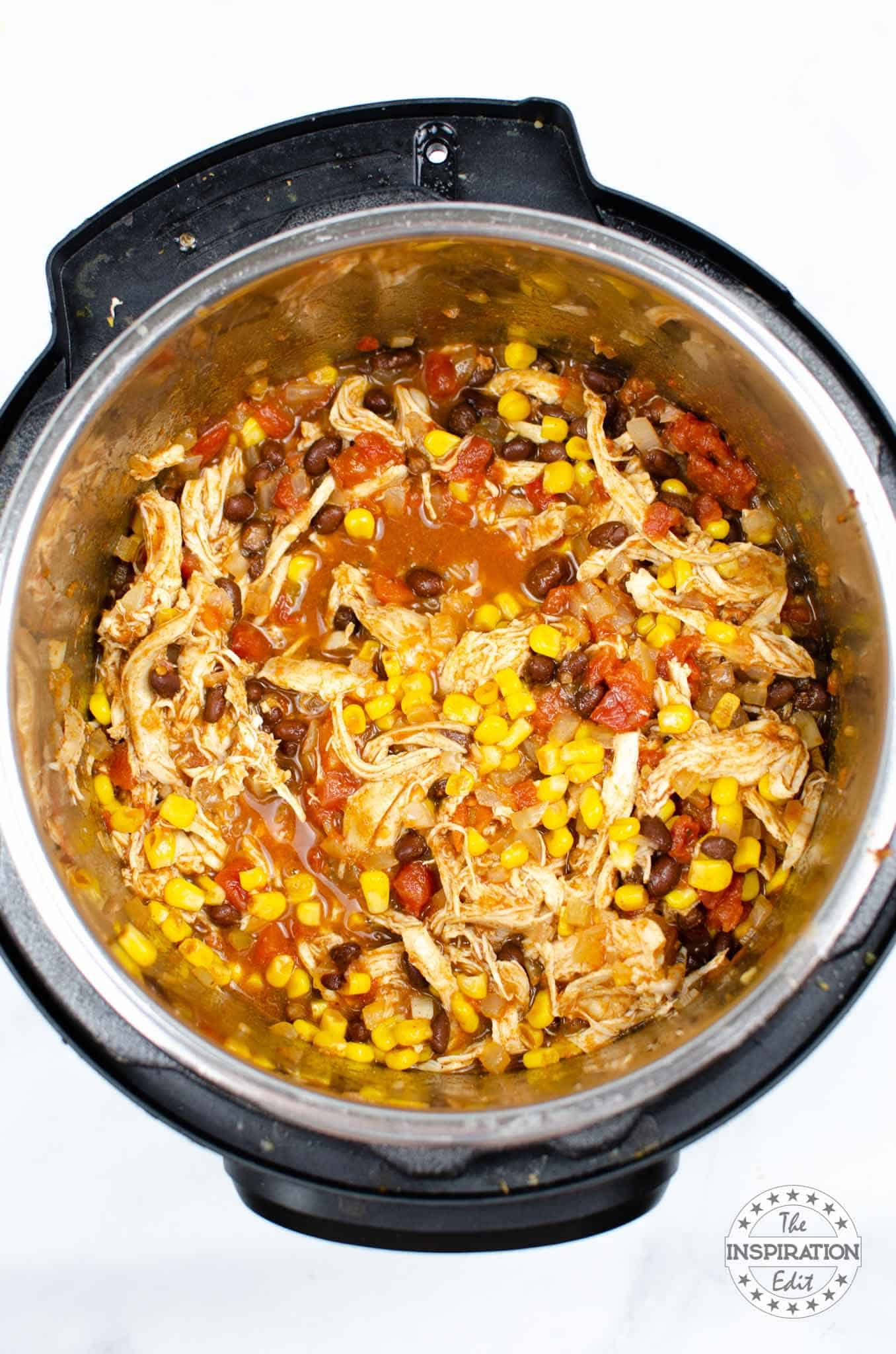 instant pot taco soup that is weight watchers friendly