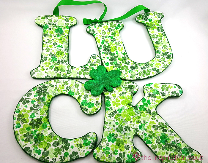 Luck Shamrock Decoration Complete