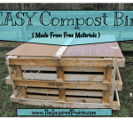 Easy Compost Bin ( Made From Free Materials )