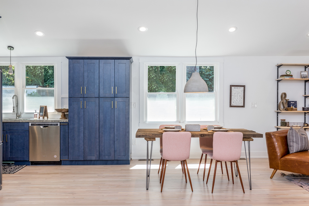 pink dining room chairs swing chair penang the inspiring investment four set design modern hairpin angled mid century legs