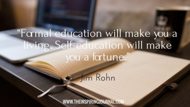 jim rohn quotes on education