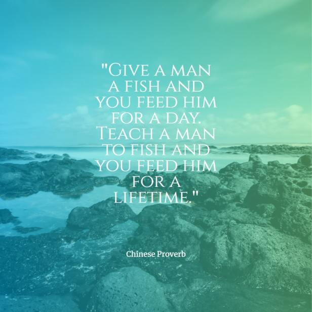 Give a man a fish and you feed him for a day. Chinese proverb quotes chinese proverbs wisdom chinese proverbs about success family love chinese proverbs motivation funny learning