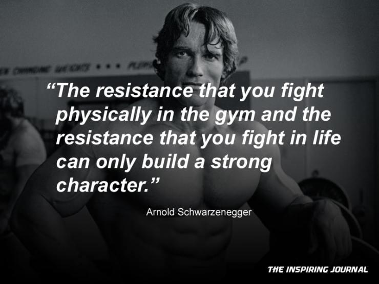 arnold schwarzenegger quotes about life success gym bodybuilding motivation quotes success