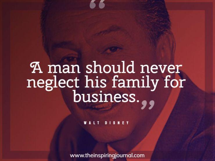 walt disney quotes family