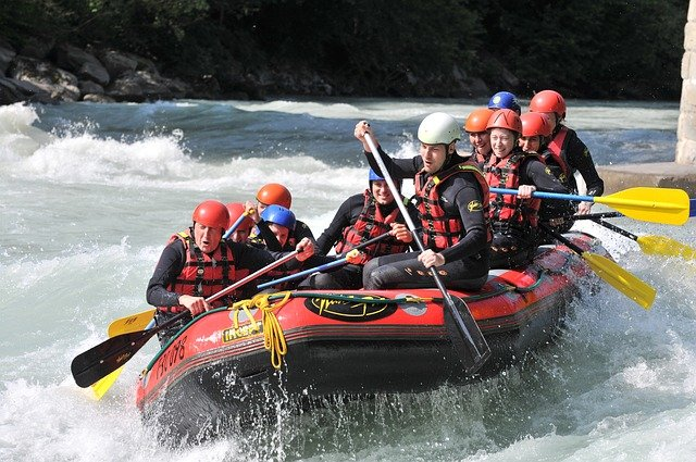How White Water Rafting Is Beneficial To Your Health