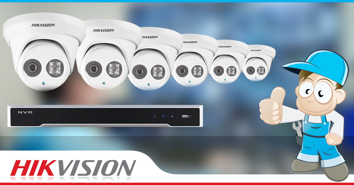 Hikvision 6 Camera CCTV System  The Installers