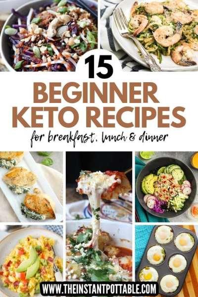 Keto recipes for beginners