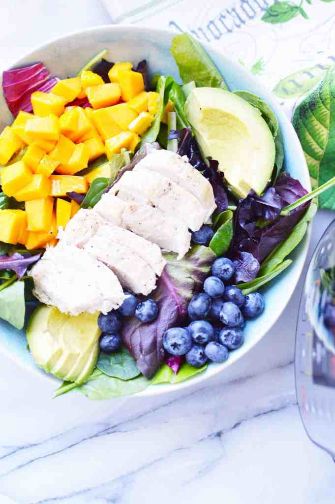Instant-Pot-3-minute-chicken-breast-mango-salad