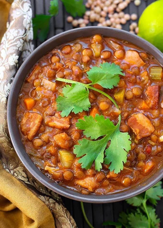instant-pot-lentil-soup-with-bacon