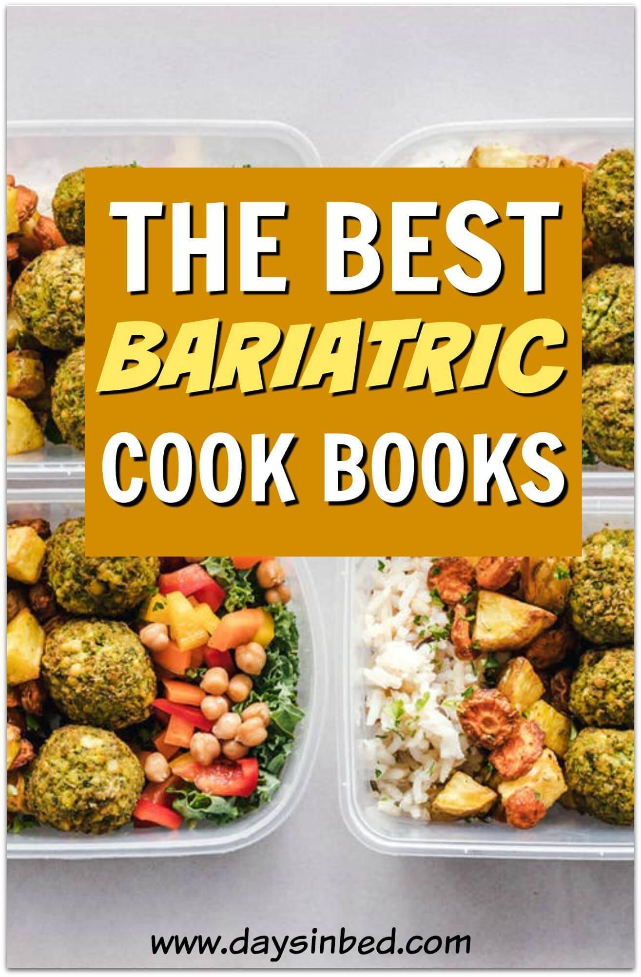 gastric bypass cookbooks