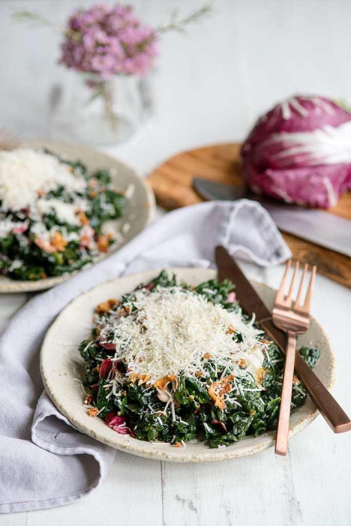 Instant-Pot-Healthy-Easy-Kale-Salad-Recipe-Prosciutto-Parmesan-Balsamic