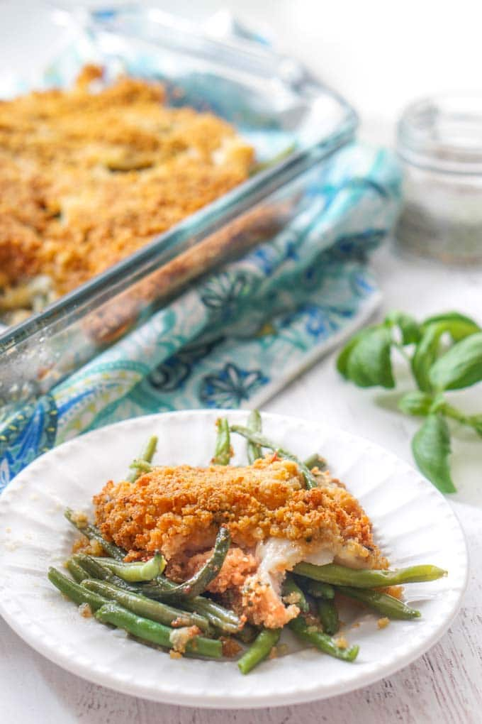 Instant-Pot-Low-Carb-Baked-Fish-with-Green-Beans