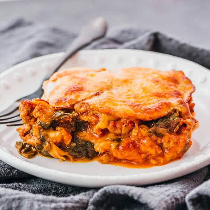 Instant-Pot-keto-lasagna
