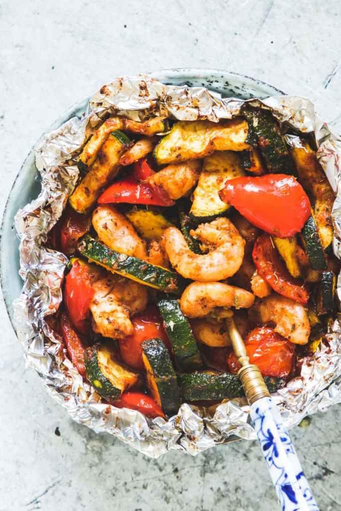Instant-Pot-shrimp-foil-pack-with-Zucchini