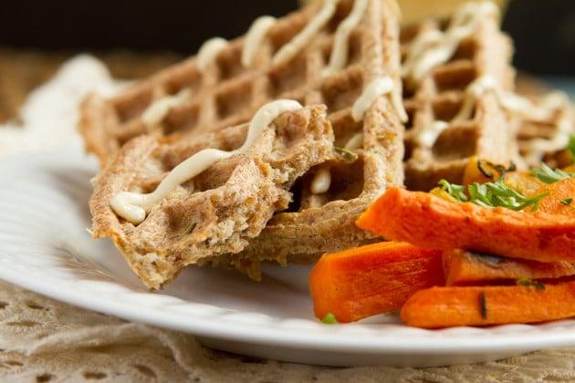 Instant-Pot-Keto-Flourless-Crispy-Flaxseed-Waffles