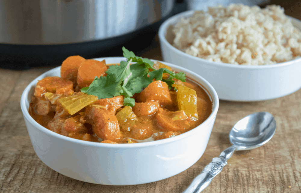 Instant-Pot-curry-chicken-and-vegetables