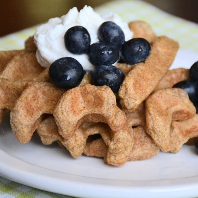 Instant-Pot-godlen-flax-waffles-low-carb