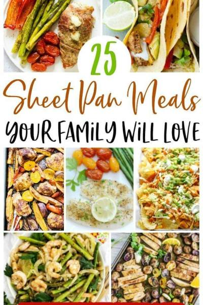 sheet pan meals for families