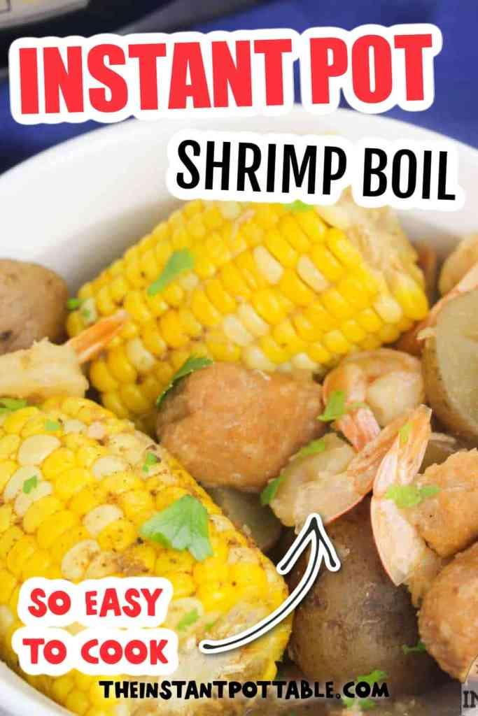 Instant Pot Shrimp Boil