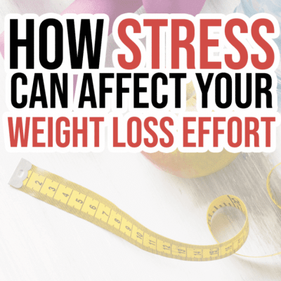 how stress effects weight loss