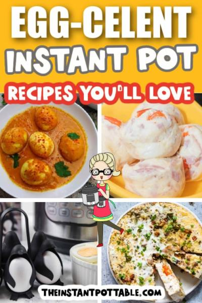 pressure cooker egg recipes for cooking in the instant pot