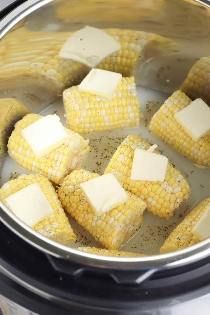 Instant Pot Buttery Sweet Corn
