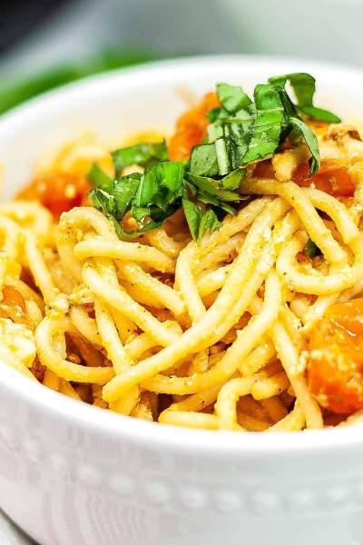 Viral Instant Pot Tik Tok Feta Pasta Featured Image