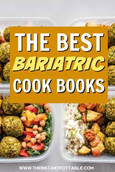 bariatric cookbooks