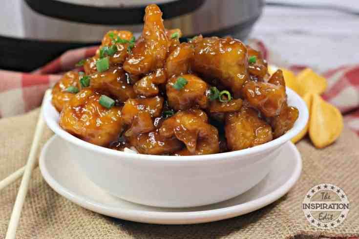 Chicken Honey instant pot recipe