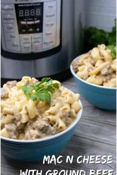 gourmet mac and cheese instant pot recipe
