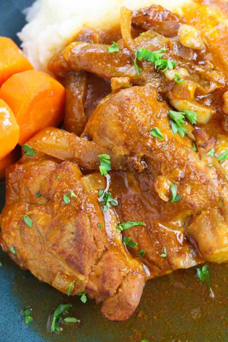 Chicken stew recipe using chicken thighs