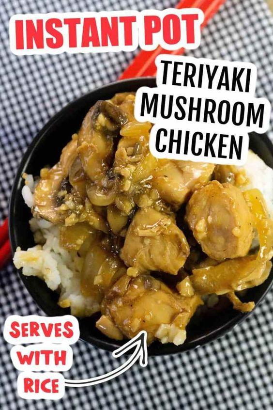 teriyaki-mushroom chicken